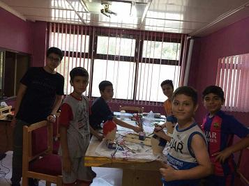 اولین جلسه کلاس های آموزش نیکوکاری ویژه تعطیلات تابستان